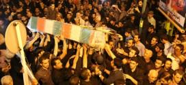 کلیپ/ تشییع شهدای غواص در ورامین