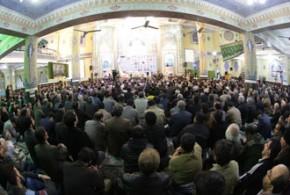 تصاویر خبرگزاری تسنیم/ استقبال ورامینی ها از عمار انقلاب؛ آیت الله جنّتی